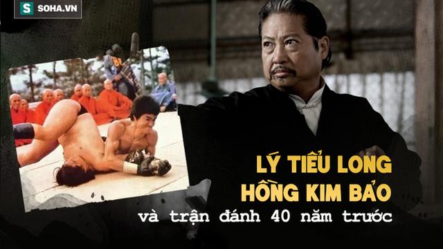 Sau trận thua Lý Tiểu Long 40 năm trước, Hồng Kim Bảo nhận được bài học cả đời không quên