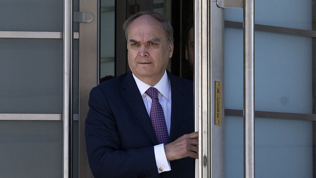 Tổng thống Nga Vladimir Putin chỉ định Đại sứ mới tại Mỹ thay ông Sergey Kislyak