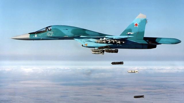 """Su-34 và Su-35 Nga xuất sắc """"hốt trọn ổ"""", diệt cả cụm tướng lĩnh chỉ huy khủng bố ở Syria"""