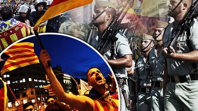 Catalonia ngày đầu bị Madrid kiểm soát: Quân đội sẵn sàng can thiệp