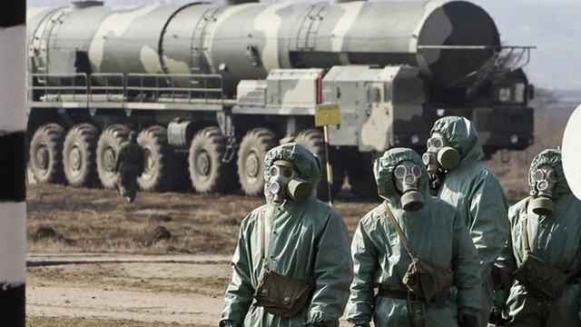 5.000 lính Nga tập trận đối phó với đòn tấn công bằng vũ khí hủy diệt hàng loạt