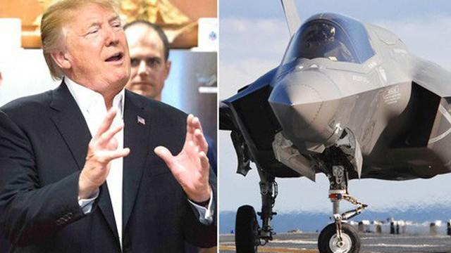 """Tổng thống Trump ca ngợi F-35 là """"chiến binh tàng hình"""" trước mắt kẻ thù"""
