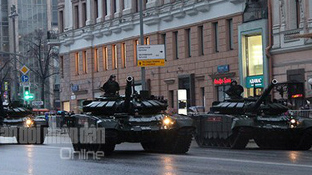 Tin quân sự: Nga diễn tập chuẩn bị cho lễ duyệt binh Ngày Chiến thắng tại Moscow