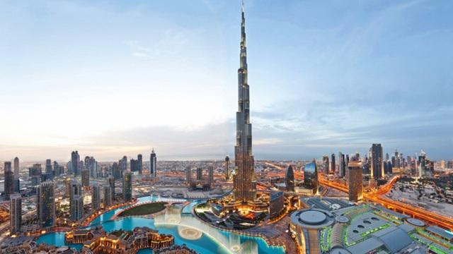 Choáng ngợp trước những công trình xa hoa, tráng lệ ở Dubai