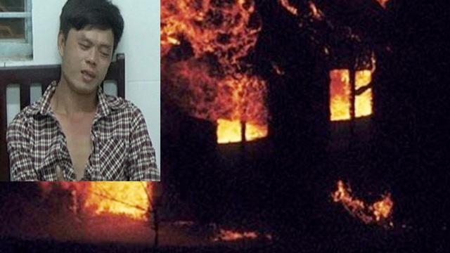 """Thanh niên """"ngáo đá"""" cố thủ dọa đốt nhà"""