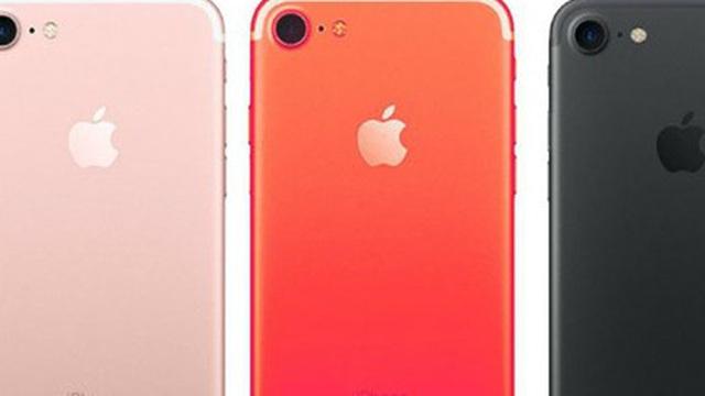 Apple sẽ ra mắt thêm iPhone 7 màu đỏ vào tháng 3?