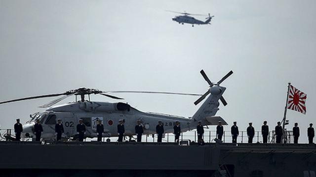 Nhật Bản chuẩn bị đưa tàu chiến lớn nhất tới Biển Đông