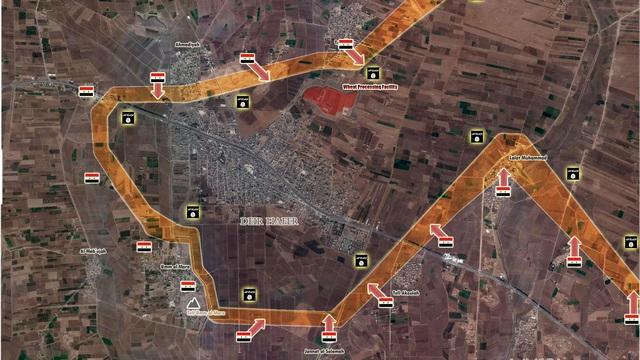 """""""Hổ Syria"""" siết chặt vòng vây, sào huyệt IS ở đông Aleppo sắp thất thủ"""