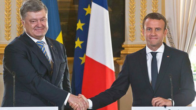 Tổng thống Macron: Pháp không công nhận Nga sáp nhập Crimea