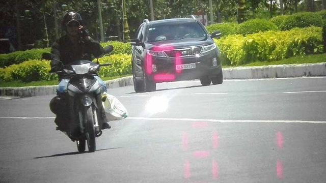 CSGT Bình Thuỷ giải thích về tấm ảnh đo tốc độ