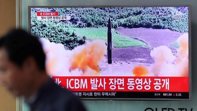 Nga và Mỹ tranh cãi về vụ phóng thử tên lửa của Triều Tiên
