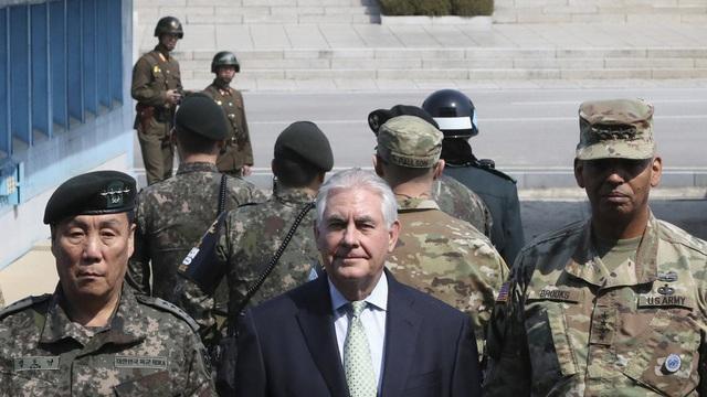 Mỹ đổi thái độ, lại tuyên bố sẵn sàng đàm phán với Triều Tiên