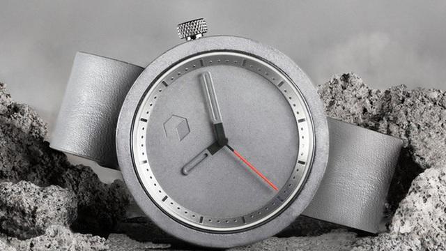 Ngoài xây nhà, xi măng còn để làm đồng hồ nữa, bạn có thể sở hữu một chiếc với giá chưa đến 3 triệu đồng