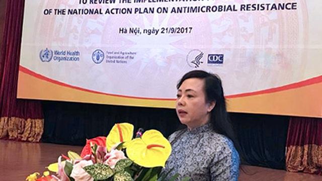 Bộ trưởng Tiến: Người dân sắp không tự mua được kháng sinh