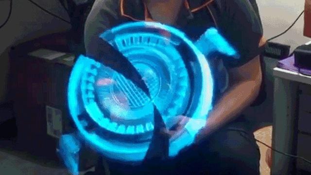 Bạn nhìn hình chiếu 3 chiều này mà xem, có khác gì được lấy từ công nghệ của Iron Man không?