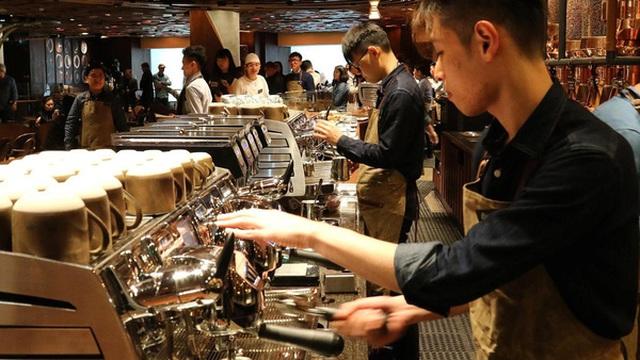 Cứ mỗi 15 giờ, Starbucks lại mở một cửa hàng mới tại Trung Quốc