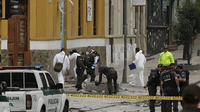Nổ lựu đạn tại hộp đêm ở Colombia, 31 người bị thương