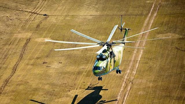 """Trực thăng """"lực sĩ bay"""" Mi-26 của Nga"""
