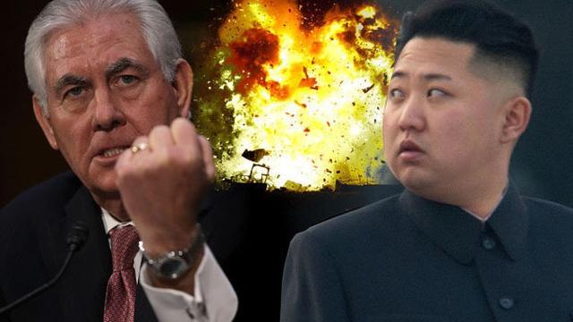 Ngoại trưởng Mỹ Rex Tillerson nói về vấn đề Triều Tiên: Bom chưa rơi thì còn đàm phán!