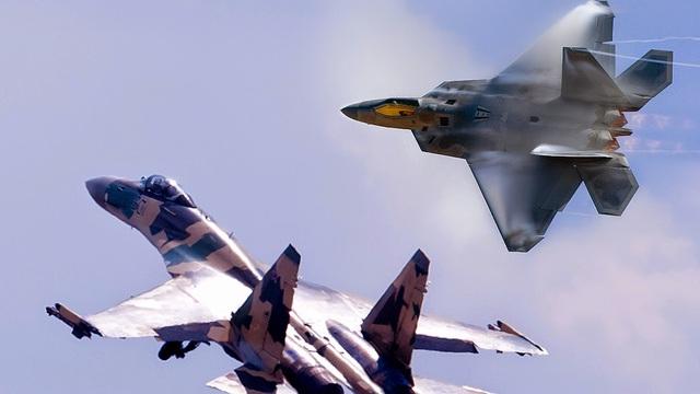 Tưởng chỉ trêu ngươi, chẳng ngờ Su-35 Nga lừa tiêm kích tàng hình Mỹ vào bẫy