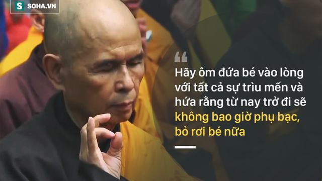 """Thiền sư Thích Nhất Hạnh đã nói gì về """"em bé bị thương tích"""" trong mỗi chúng ta?"""