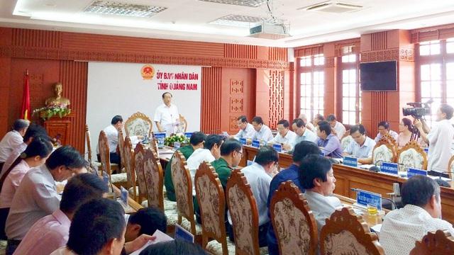 Quảng Nam lên tiếng về thông tin Chủ tịch tỉnh tiếp công dân không đầy đủ
