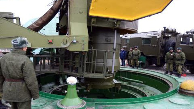 Tổ hợp tên lửa chiến lược Yars của Nga chết lâm sàng vì cấm vận?