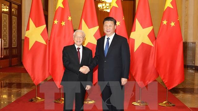 Việt - Trung ký kết 15 văn kiện hợp tác giữa hai Đảng, hai nước