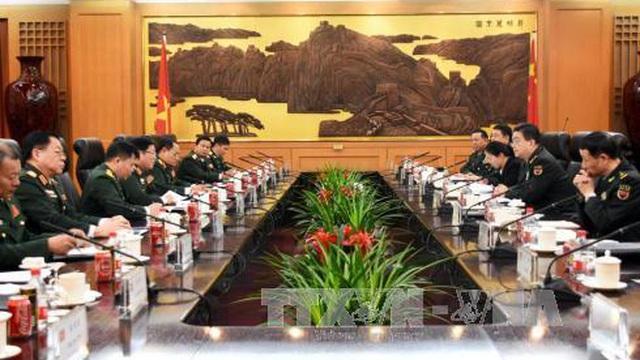 Bộ trưởng Quốc phòng Việt Nam và Trung Quốc quyết tâm đưa quan hệ hai nước lên tầm cao mới