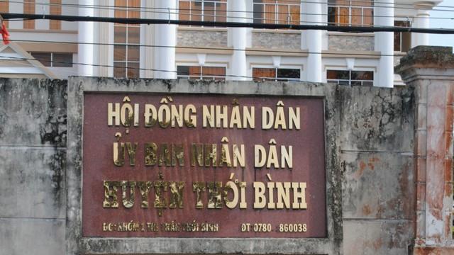 Phát hiện nhiều sai phạm trong quản lý tài chính tại huyện Thới Bình