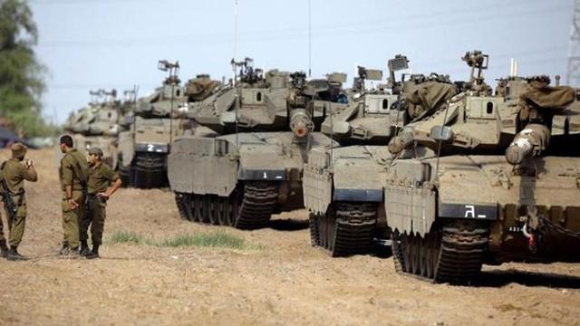 Israel triển khai 60 xe tăng, xe bọc thép đến biên giới Gaza