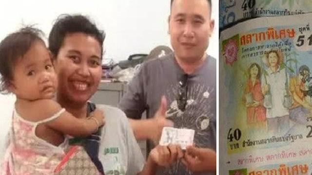 Bé gái tình cờ chọn 2 tấm vé số giúp mẹ trúng 4,2 tỷ