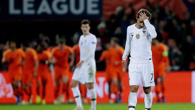 Pháp bất ngờ thua Hà Lan, đẩy Đức xuống hạng ở sân chơi UEFA Nations League