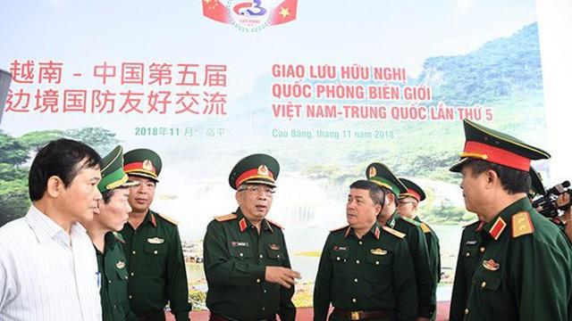 Sẵn sàng cho Giao lưu hữu nghị quốc phòng biên giới Việt-Trung lần thứ 5