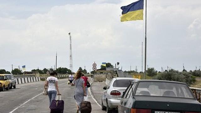 'Động thái lạ' của Kiev với bán đảo Crimea sau khi Nga bắt 3 tàu Ukraine