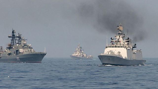 Đội biệt kích Hạm đội Thái Bình Dương Nga đến Ấn Độ