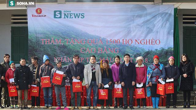 1500 suất quà Tết được trao tận tay người nghèo Cao Bằng