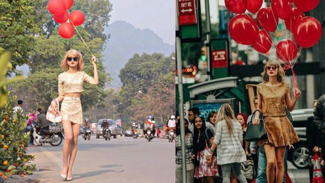 Xuất hiện trên đường phố, chàng trai khiến nhiều người giật mình vì tưởng là Taylor Swift