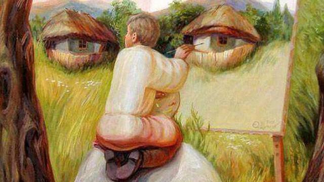Hình ảnh nhìn thấy đầu tiên cho biết bạn hành xử theo lý trí hay cảm xúc