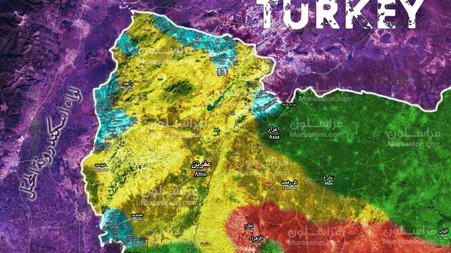 Người Kurd Syria đánh cầm chừng, quân Thổ chiếm thêm 2 thị trấn