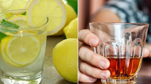 Say rượu nên tránh xa nước chanh, thuốc chống nôn vì nguy hiểm không ngờ
