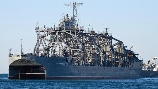 """Khám phá huyền thoại """"khủng long"""" cứu hạm Kommuna của Nga"""