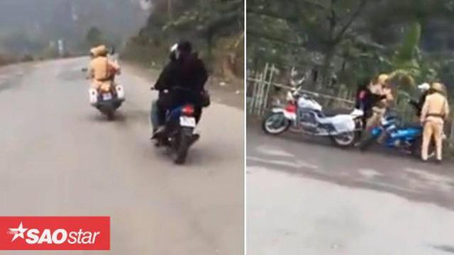 Nhóm thanh niên rú ga, lạng lách gây náo loạn trên đường, chống đối CSGT