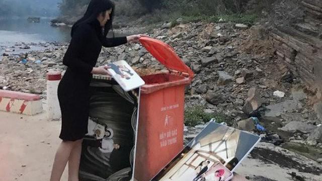 Tết Táo quân, nhà nhà đi thả cá, còn cô gái này lại đi vứt… ảnh cưới