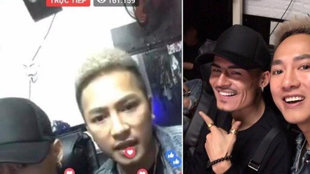 Hoa Vinh giao lưu cùng Châu Khải Phong tạo nên kỉ lục livestream 161k lượt tương tác cùng lúc