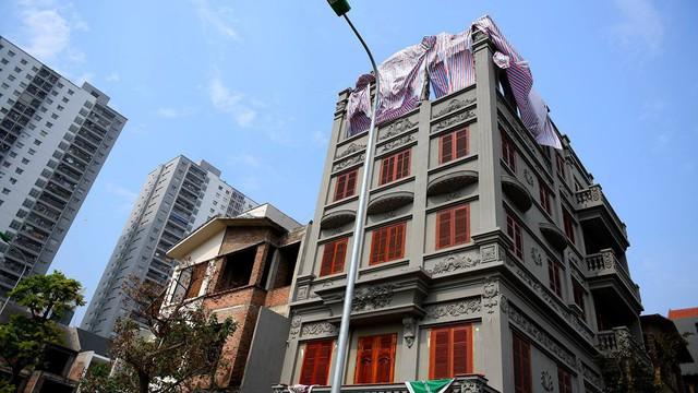 Vì sao phần vi phạm tại biệt thự của vợ ông Nguyễn Thanh Hóa chậm tháo dỡ?