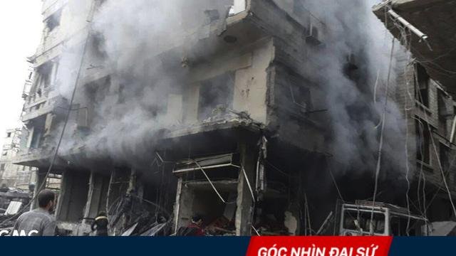 Quân chính phủ sắp giành lại Đông Ghouta, tại sao Mỹ vẫn lấy cớ tấn công Syria?