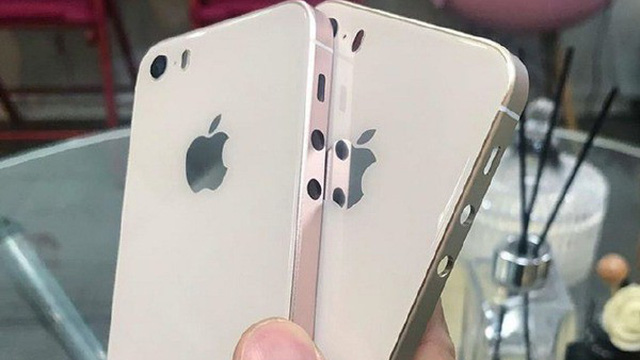 iPhone SE 2 tiếp tục lộ ảnh, mặt lưng kính, khung kim loại vuông vắn và camera lồi