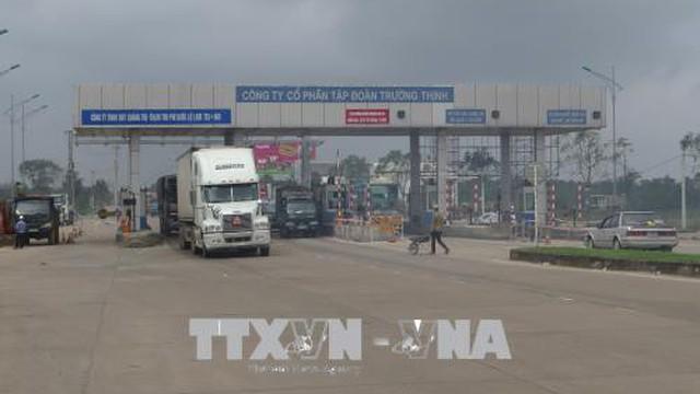 Trạm BOT Quảng Trị triển khai thu phí tự động