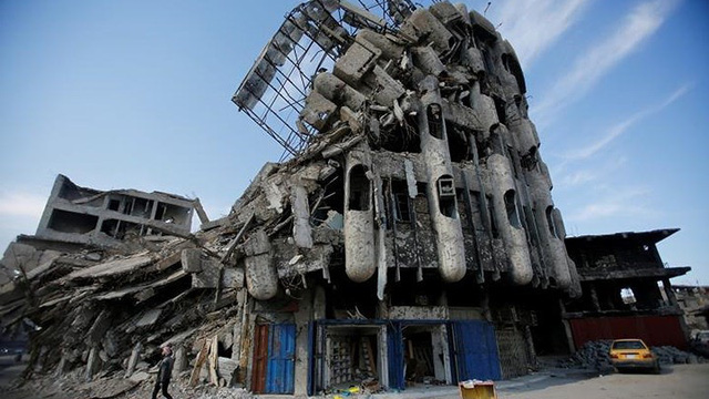"""Mosul- """"Nấm mồ khổng lồ"""" bên dưới chiến thắng IS"""